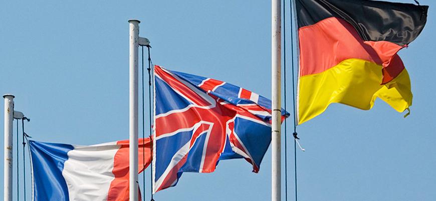 Almanya Fransa ve İngiltere'den 'Süleymani' çağrısı