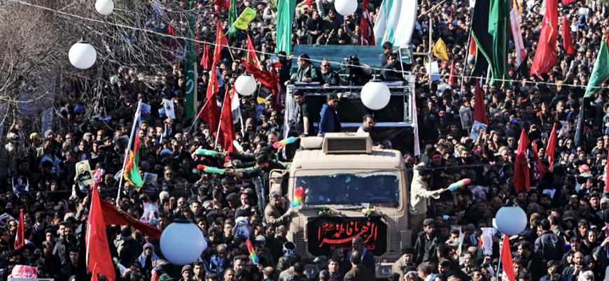 Kasım Süleymani'nin cenaze töreninde çıkan izdihamda en az 40 kişi öldü