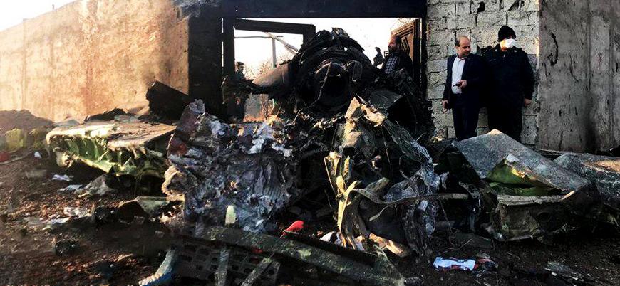 İran'da yolcu uçağı düştü: 176 kişi öldü