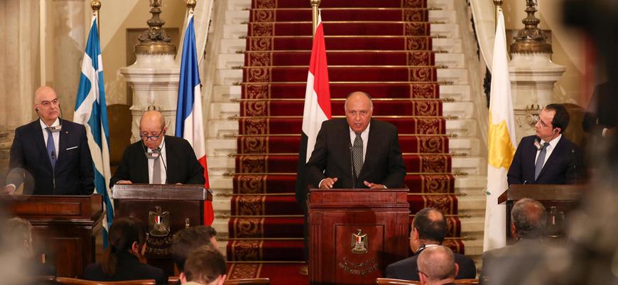 Mısır'daki 'Libya toplantısı'ndan Türkiye'ye suçlama