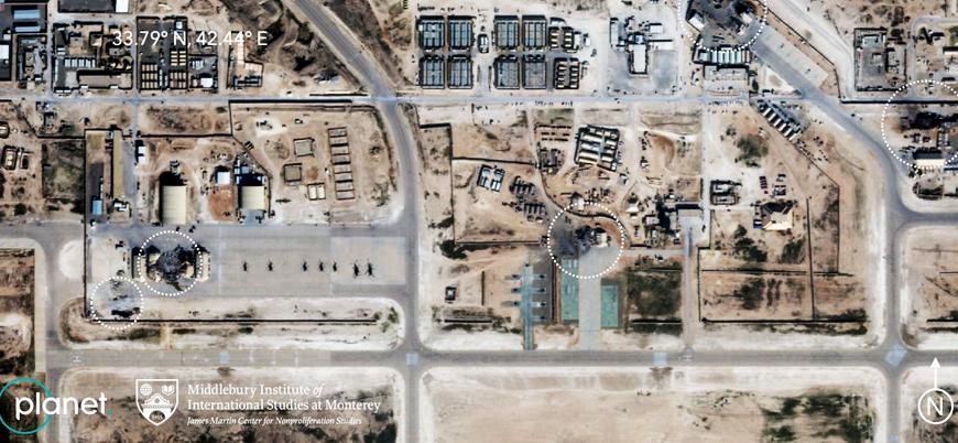İran'ın vurduğu ABD üssünün uydu görüntüleri yayınlandı