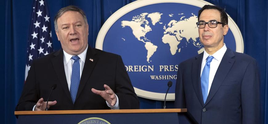 ABD İran'a yönelik yeni yaptırımları açıkladı