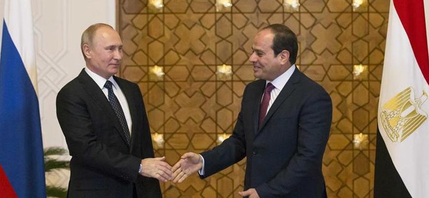 Putin ve Sisi Libya'yı görüştü