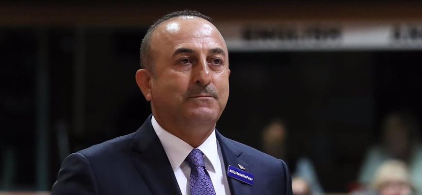 Çavuşoğlu: Libya'da Hafter'i yok saymamız mümkün değil, Rusya'nın ikna etmesini bekliyoruz