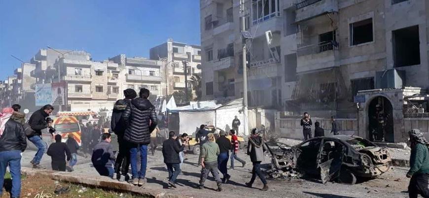 Rusya, İran ve Esed rejimi İdlib'de katliam yapıyor: Onlarca yerleşim bombalandı