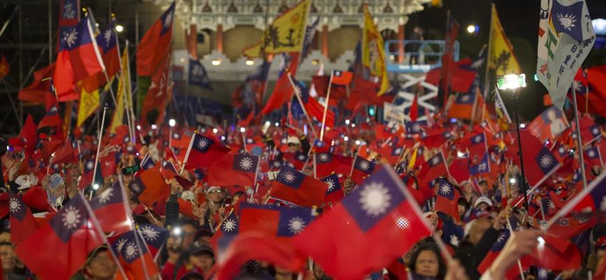 Tayvan'da seçim sonuçları belli oldu