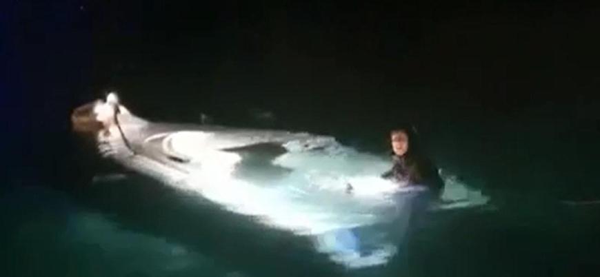 İzmir açıklarında göçmen teknesi battı: 8'i çocuk 11 ölü