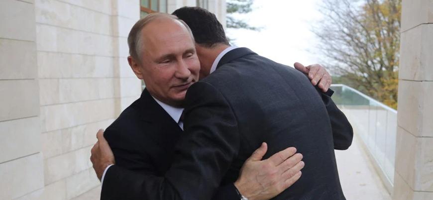 Putin'den Esed'e: Trump'ı Şam'a davet et