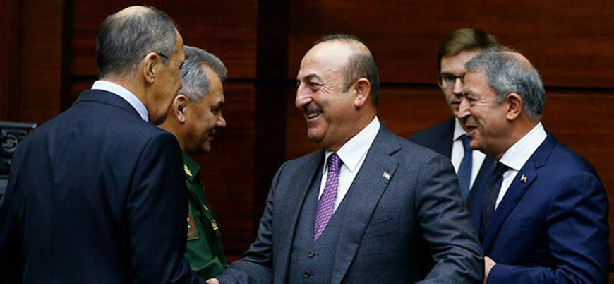 Türk ve Rus heyetleri Libya için Moskova'da