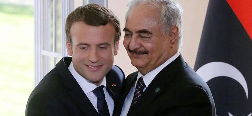 """""""Libya'da Hafter'i desteklemiyoruz ama o söz sahibi"""""""
