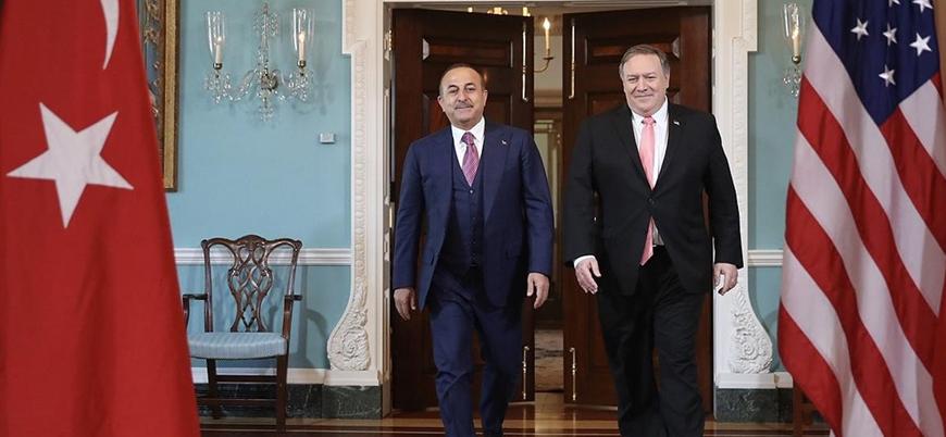 Çavuşoğlu ve Pompeo Ortadoğu'yu görüştü