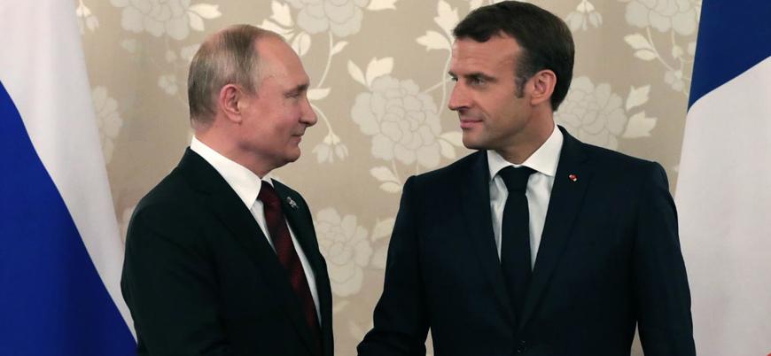 Putin ile Macron arasında 'İran' görüşmesi