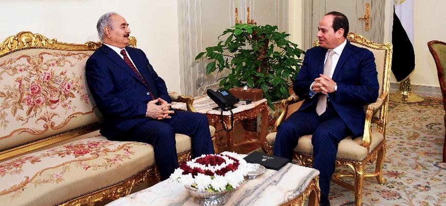 'Hafter Mısır'dan askeri yardım isteyebilir'