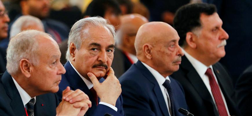 'Hafter ateşkes anlaşmasını imzalamadan Moskova'dan ayrıldı'