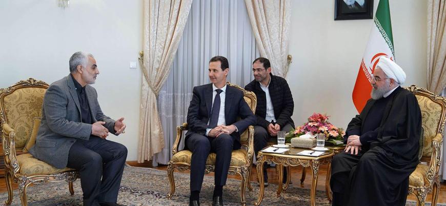 Esed rejimi Kasım Süleymani'ye 'şeref madalyası' verdi