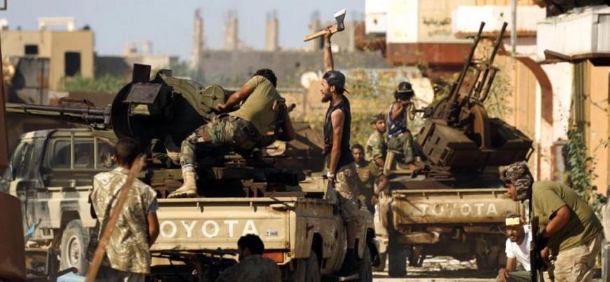 Libya'da ateşkes bitti savaş devam ediyor