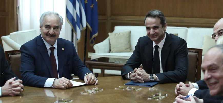 Hafter Libya zirvesi öncesi destek arayışı için Atina'da