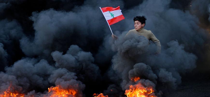 Lübnan'da protestolar şiddetleniyor: 220 yaralı