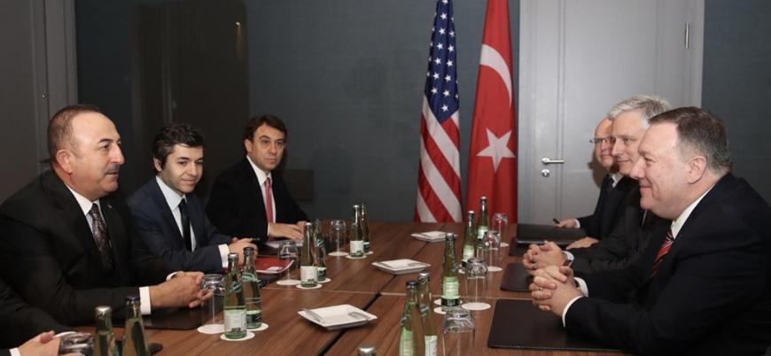 Dışişleri Bakanı Çavuşoğlu Pompeo ile görüştü