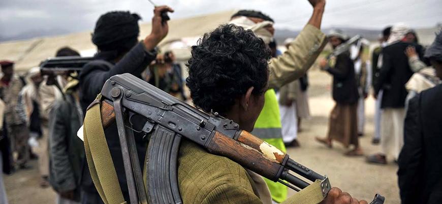 """""""İran destekli Husiler Yemen'de barış istemiyor"""""""