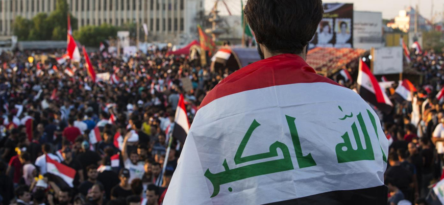 Iraklı göstericiler Bağdat hükümetine bir hafta mühlet verdi