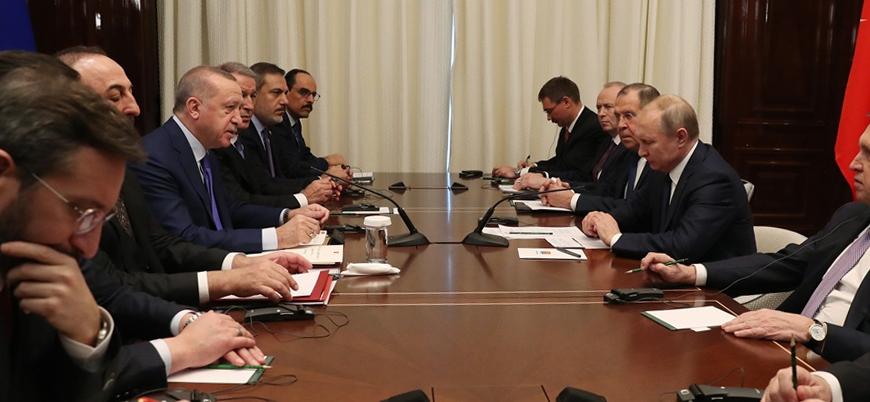 Erdoğan ve Putin Berlin'de bir araya geldi