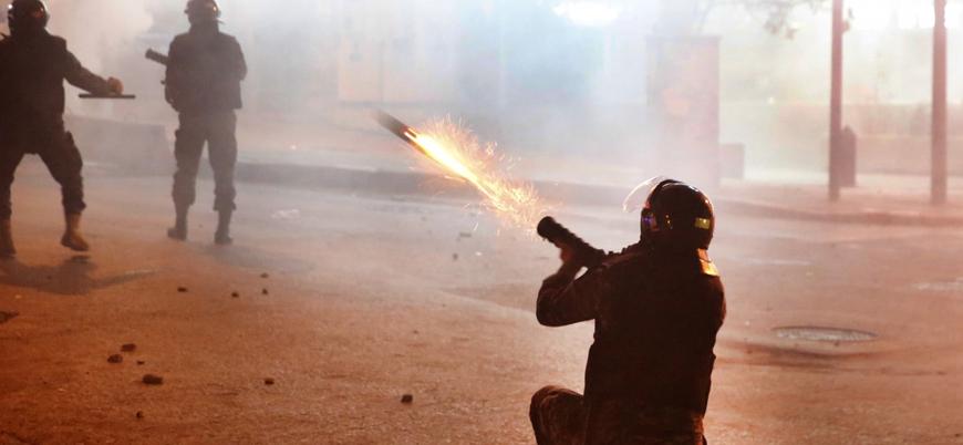 Lübnan'daki protestolarda şiddet tırmanıyor