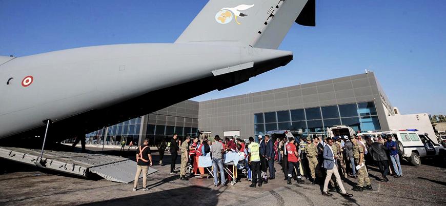 Somali'deki saldırıda yaralanan 3'ü Türk 9 kişi Türkiye'ye getiriliyor