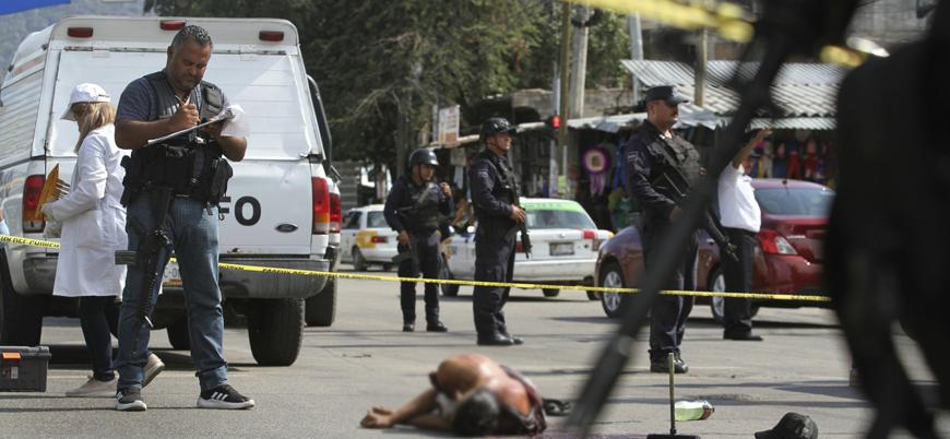 Meksika'daki cinayet sayısı 2019'da yeni bir rekor kırdı