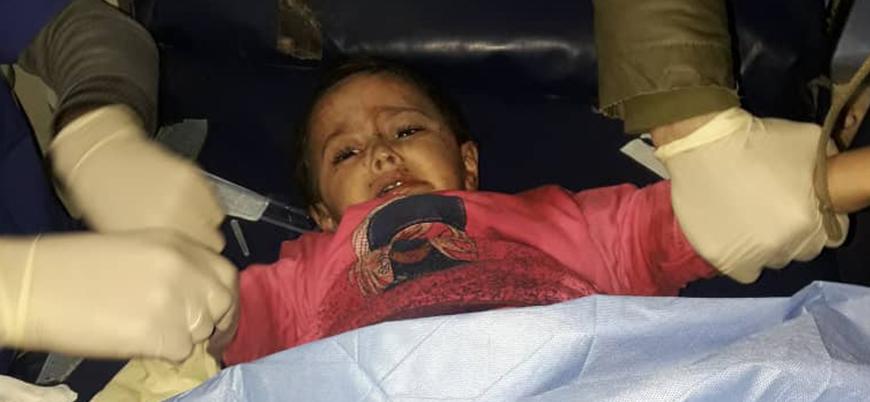 Rusya Suriye'de çocukları vuruyor