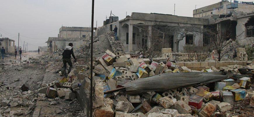 Rus savaş uçaklarının 'İdlib Gerginliği Azaltma Bölgesi'ne saldırılarında 36 sivil öldü