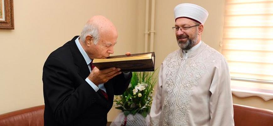 Diyanet İşleri Başkanı Ali Erbaş'tan Cem Vakfı'na ziyaret
