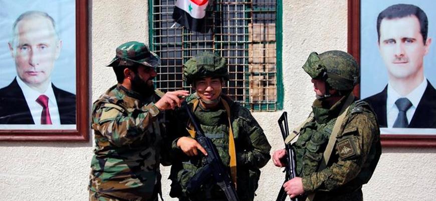 Rusya ve Esed güçlerinden Akdeniz'de ortak tatbikat