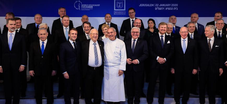 Dünya liderleri 'Dünya Holokost Forumu' için Kudüs'te