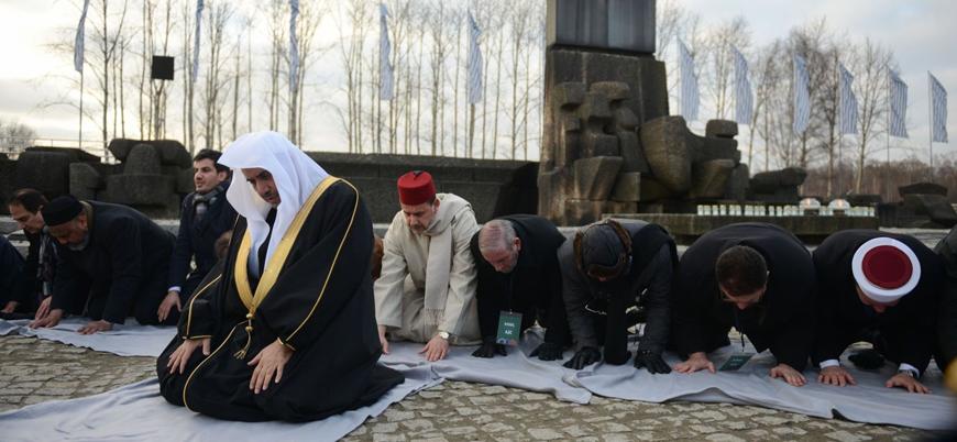 Suudi Arabistan merkezli İslam Birliği Genel Sekreterinden Auschwitz kampına ziyaret