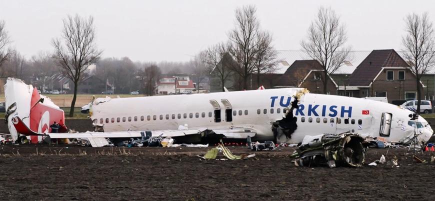 Amsterdam'da düşen THY uçağına ilişkin soruşturma başlatılacak
