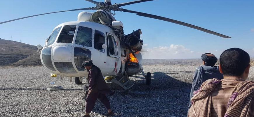 Afganistan'da Taliban yabancı güçlere ait bir helikopter ve 2 drone düşürdü