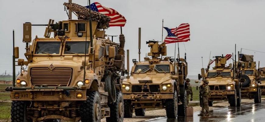 ABD güçleri Suriye'de Rus askerlerinin yolunu kesti