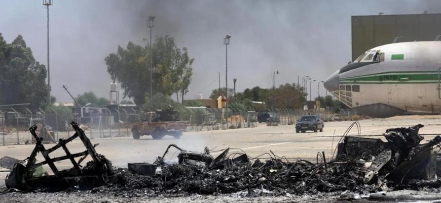 Libya'da Hafter güçlerinin Mitiga Havalimanı'na saldırısında 1 Fas vatandaşı öldü