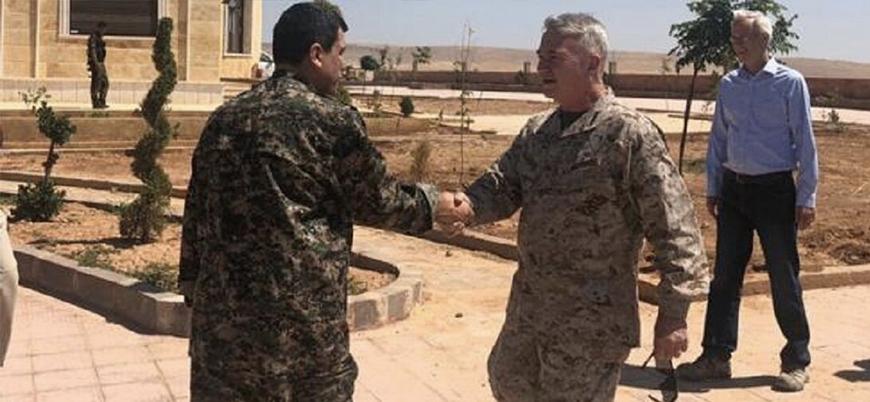 ABD'li komutan McKenzie YPG komutanı Kobani ile görüştü