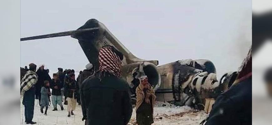 Taliban: ABD ordusuna ait uçak düşürdük
