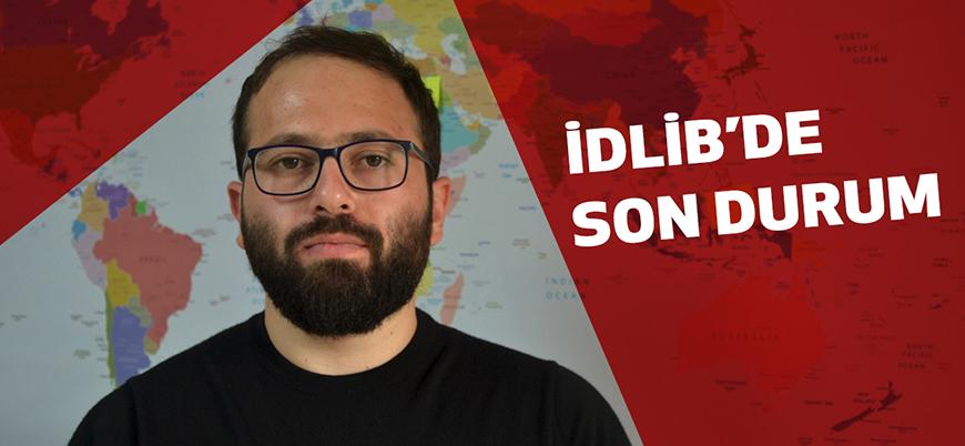 Halid Abdurrahman Rus saldırılarının sürdüğü İdlib'de son durumu değerlendirdi