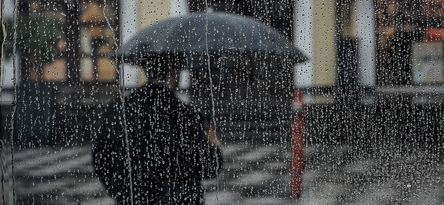 Meteoroloji'den Marmara bölgesi için sağanak yağış uyarısı