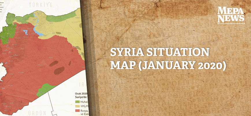Syria situation map (January 2020)
