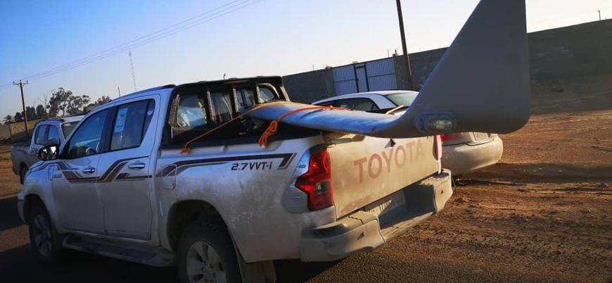 Libya'da Türkiye destekli UMH güçleri Hafter'e ait İHA düşürdü