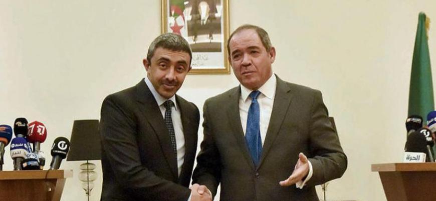 Türkiye'den sonra BAE de Cezayir'de: Libya krizi görüşüldü