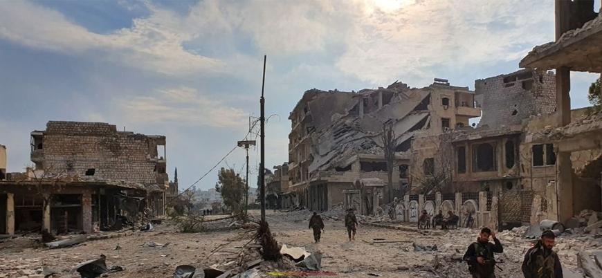 Rusya, İran ve Esed rejimi İdlib'in en büyük ilçesi Maret el Numan'ı ele geçirdi