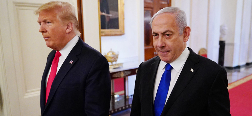 """Trump Filistin meselesine dair """"Yüzyılın Anlaşması""""nı açıkladı"""