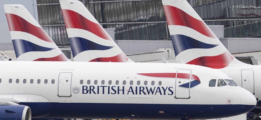 İngiltere'nin ulusal havayolu Çin'e tüm uçuşları durdurdu
