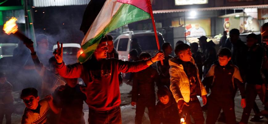 Trump'ın açıkladığı 'Ortadoğu Barış Planı'na karşı Gazze'de grev kararı